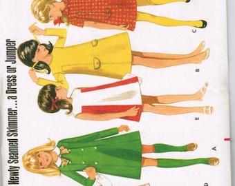 OOP Vintage Butterick 5041 Girls One-Piece Dress or Jumper