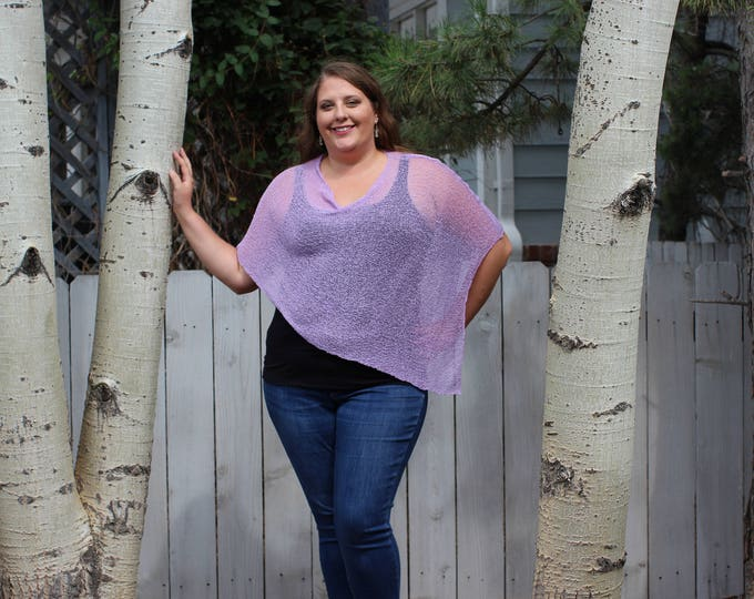 Featured listing image: Lavender - Arizona Shawl