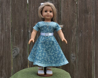 18 inch Doll Clothes Dresses American Made Girl Kids Doll Clothes Doll Jewelry Accessories Belt Gold Necklace Gifts Under 40 Ready Hand Made