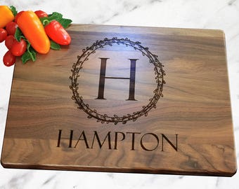Personalized Cutting Board, Engraved, Wedding Gift, Wedding Shower, Personalized Gift, Thank You Gift, Realtor Gift, Realtor Closing Gift
