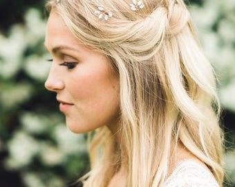 Crystal Leaves Hair Vine, Wedding Hair Accessories, Hair Vine, Hair Accessories, Headband, Gold Hair Accessories, Bridal Hair Vine, Boho