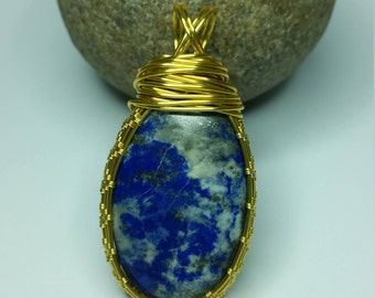 Lapis Lazuli Pendent