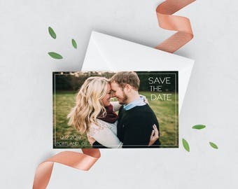 Framed Save the Date