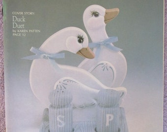 Ceramic Projects - Second Quarter 1988 - Ducks and Geese