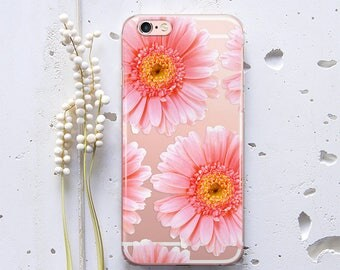 Daisy Case for Samsung Galaxy S6 Case iPhone 6 Case iPhone 8 Plus Case Silicone Case for Samsung Galaxy S5 Case for Samsung Galaxy S8 WC1096