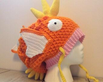 Ready To Ship Crochet Magikarp Hat