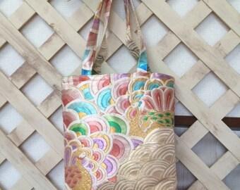 Japanese Kimono Obi Bag