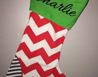 Personalized Christmas Stocking - Christmas Stocking - Personalized stocking ~