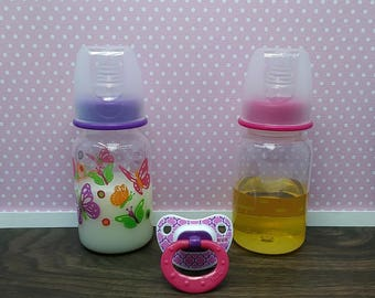 Reborn Bottles, Reborn Pacifier, Reborn Juice Bottle & Reborn Milk Bottle, Magnetic Reborn Pacifier, Putty Reborn Pacifier, Reborn Babies