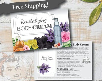 Plexus Body Cream Sample Postcard - Free Shipping