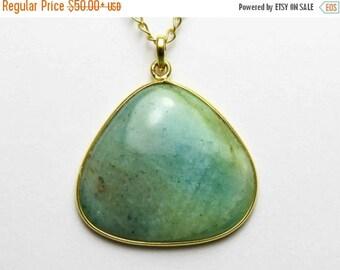20% Off Aquamarine pendant Aquamarine Necklace, Natural Stone Jewelry, March Birthstone Necklace natural aquamarine jewelry