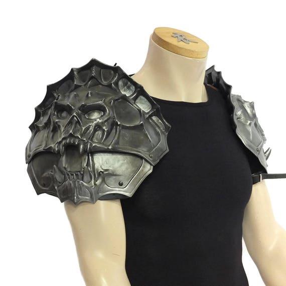 Larp Armor, Demon Head Shoulderguards
