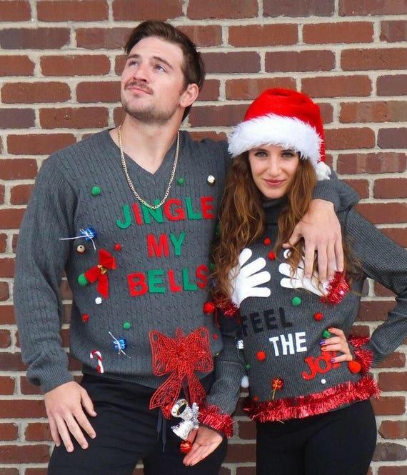 Ugly Christmas Sweater / Couples Ugly Christmas Sweater