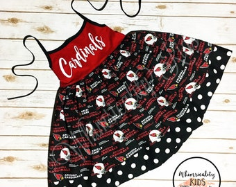 Arizona Cardinals Dress - Cardinals Dress - Football Dress - Team Dress - Arizona Cardinals