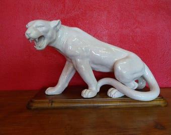 Crackle ceramic Panther 1950