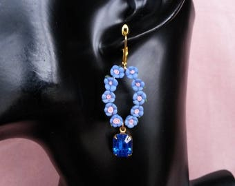 "Collection ""La Rosière"" earrings N ° 5"