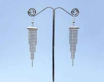 Ornate earrings ' polka dot '