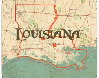 Louisiana Coasters & Other Merchandise