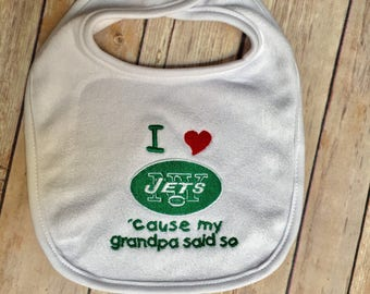 I heart Jets 'cause my daddy said so