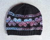 Knitting Pattern: Hearts ...