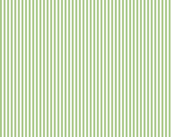 "1/2  Yard Riley Blake Basic Stripes 1/8"" Green 495"