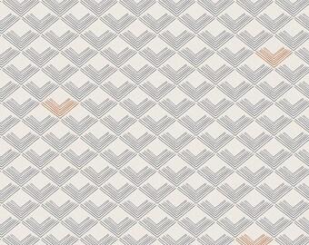 1 Yard Dollhouse by Amy Sinibaldi for Art Gallery Fabrics 1082 Rooftiles Slate