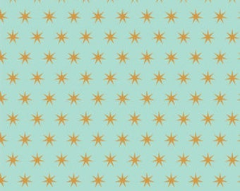 1 Yard Just Sayin' by Jen Allyson of My Minds Eye for Riley Blake Designs -6893 Mint Star