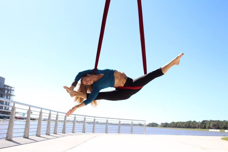 All Color Options Aerial Yoga Hammock Kits