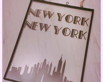 New York New York frame