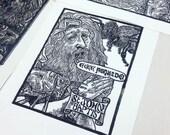 St John the Baptist: Lino...