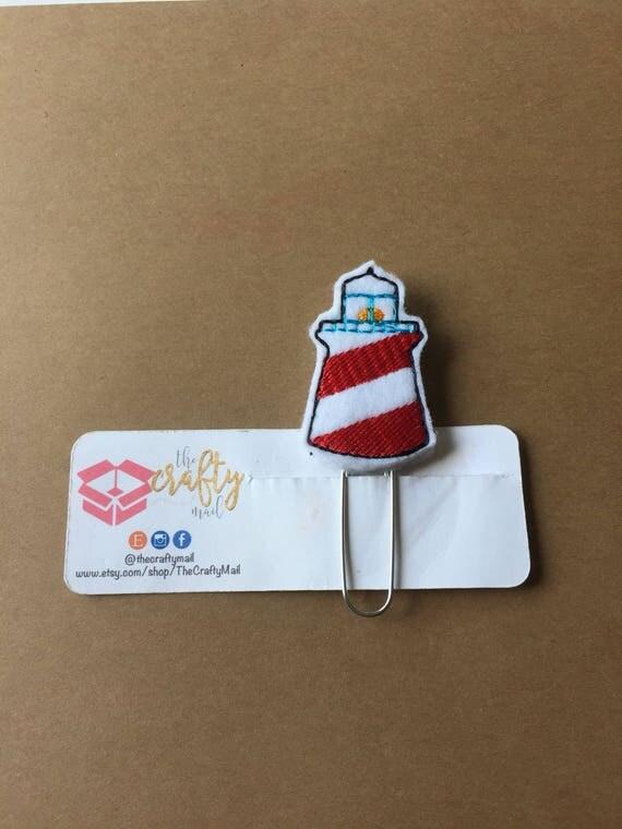 Lighthouse Clip/Planner Clip/Bookmark. Lighthouse planner clip