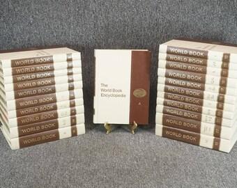 The World Book Encyclopedia 22 Volume Complete Set C. 1972 Hardcover