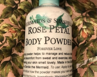 Rose Petal Body Powder / Dusting Powder