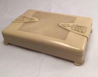 Art Deco style jewellery box