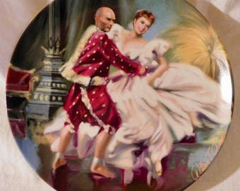 Shall We Dance by William Chambers The King and I By Rodgers and Hammerstein II Collectors Plate Knowles Fine China