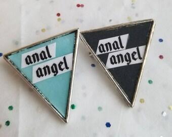 Anal angel pin