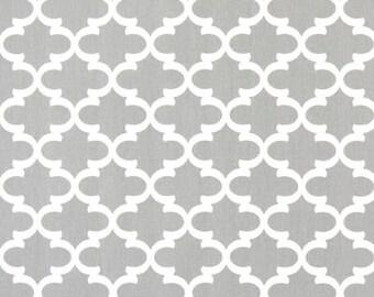 Premier Prints Fulton French Gray/White Fabric Cut Yardage