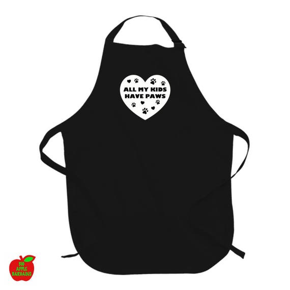 All My Kids Have Paws apron