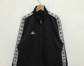 20% OFF Vintage Kappa Zipper Jacket/Kappa Italia/Kappa Clothing/Kappa Pullover/Kappa Sportwear/Asap Rocky