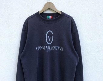 20% OFF Vintage Gianni Valentino Spell Out Sweatshirt / Gianni Valentino Big Logo / Gianni Valentino Italy