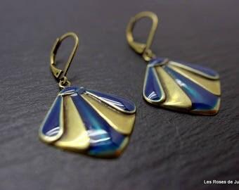 Theodora Deco earrings, earrings