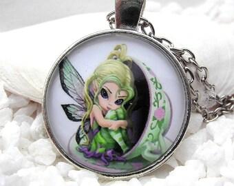 Necklace Elf Fairy Nostalgia