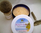 ISLAND ESCAPE Premium Quality Luxury Tallow & Shea Butter Shaving Soap