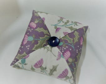 Patchwork Pincushion, Pin Cushion