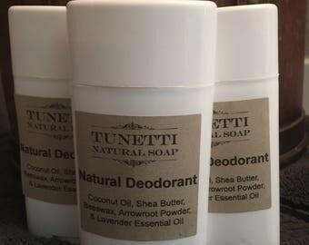 Natural Deodorant - handmade, organic product, chemical-free, aluminum-free