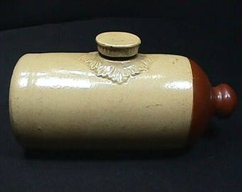 Antique Stoneware Foot Warmer Jug by Lovatts Langley Ware out of England Ready to Use