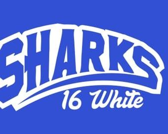Sharks 16 W Team Shirt