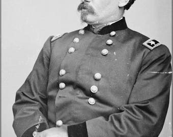 Poster, Many Sizes Available; General George B. Mcclellan. C1862