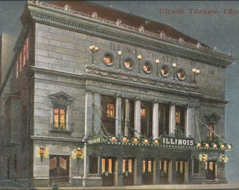 Poster, Many Sizes Available; Illinois Theatre, Chicago, Illinois