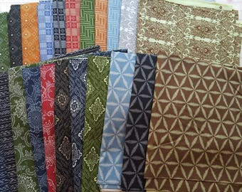 Clearance - 22 Yard Bundle Boro by Parson Gray for Free Spirit